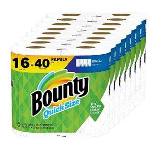 Bounty厨房纸巾16卷 相当于普通40卷