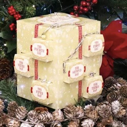 首饰圣诞倒数日历热卖 含Swarovski水晶、潘多拉手链