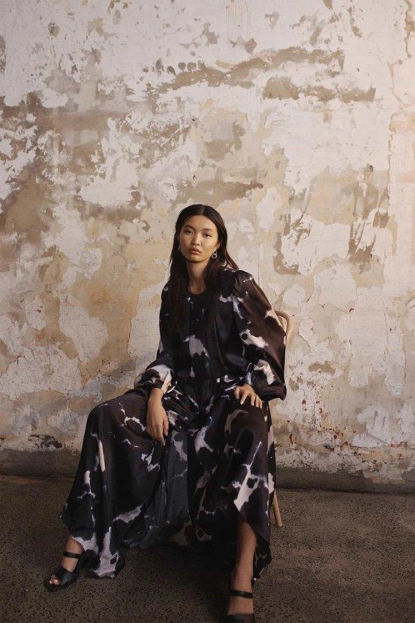 Oxidised 印花裙