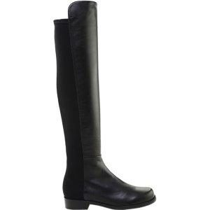 Stuart Weitzman5050 Lamb Leather Over-the-Knee Boot