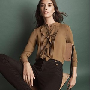 Today Only: 40% Off + Free ShippingFull-Price Tops, Sweaters & Shoes @ Ann Taylor