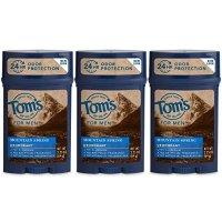 Tom's of Maine 男士止汗除臭剂 山泉味 3支装