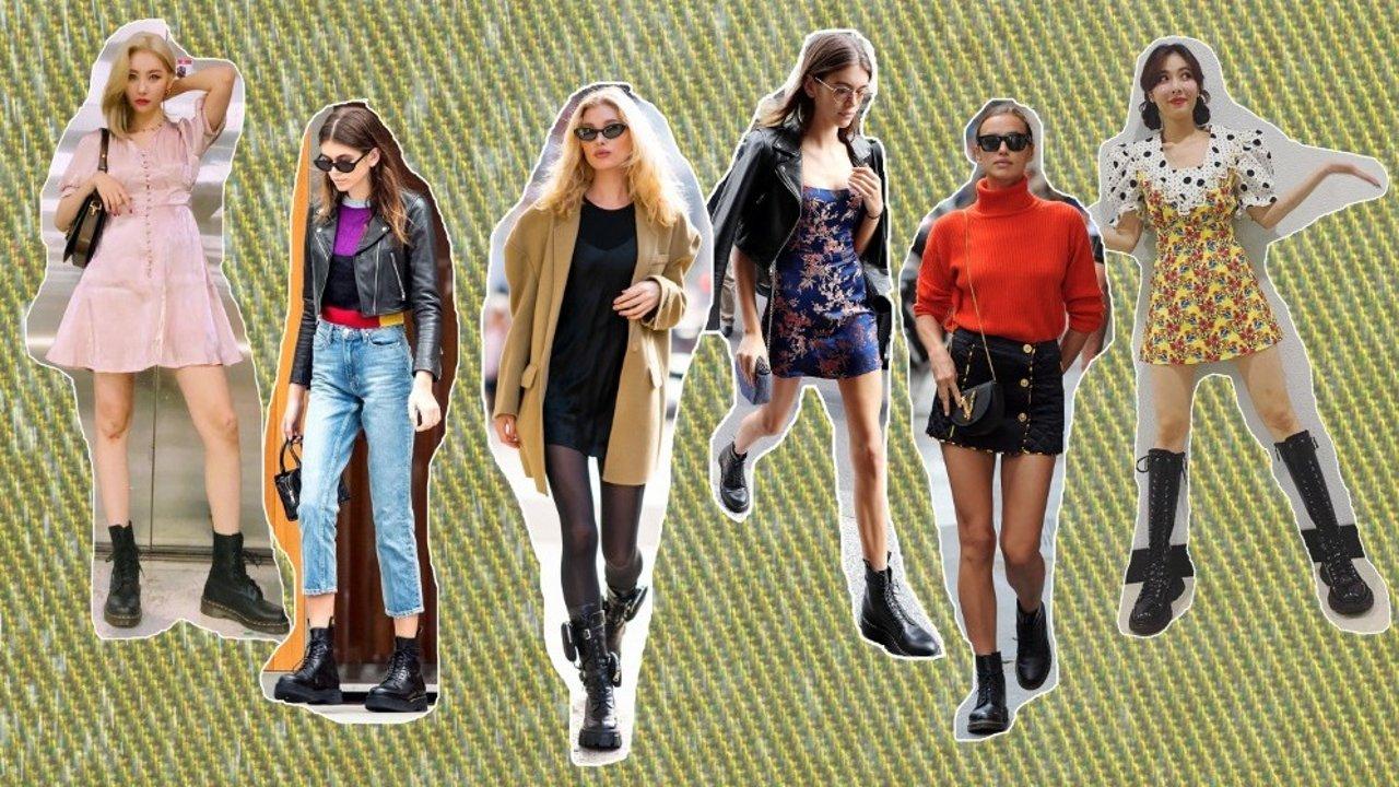 干货!12个马丁靴品牌推荐 | A爆时尚界的马丁靴,这样穿人人都能成为腿精!