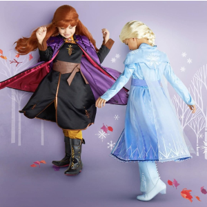 低至7.5折 全新周邊首降價即將截止:迪士尼官網 最新《Forzen 2》周邊上市 Elsa 和 Anna 萬圣節服飾都有