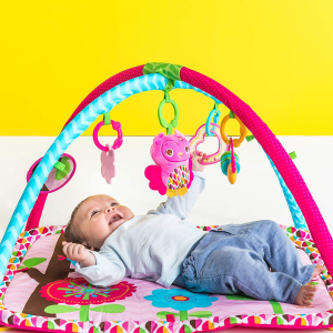 $33起(原价$64.88) 好奇宝宝必备Bright Starts  四合一健身玩乐婴儿游戏垫3色选特卖