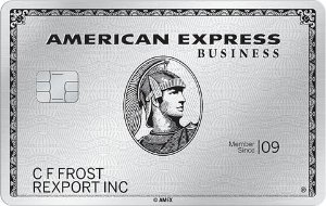 Earn 85,000 Membership Rewards® points, 5x points on eligible purchases in 5 select business categories in the first 3 months. Terms Apply.The Business Platinum Card® from American Express