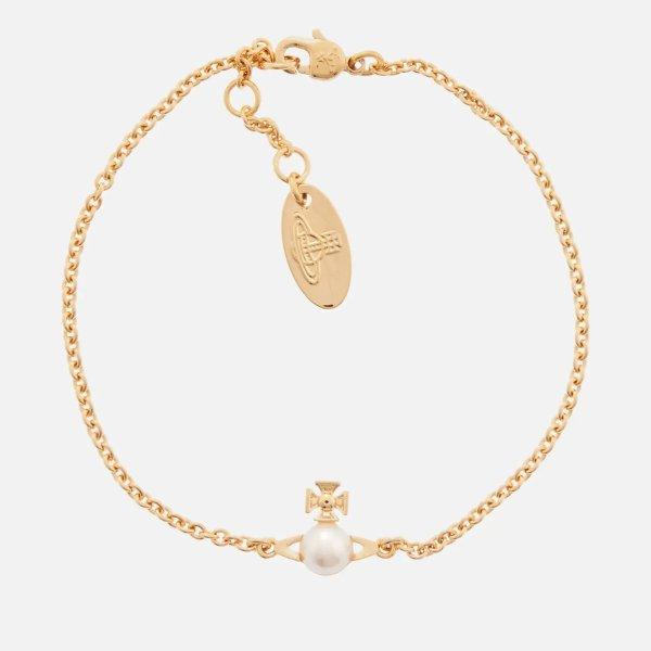 小土星珍珠手链