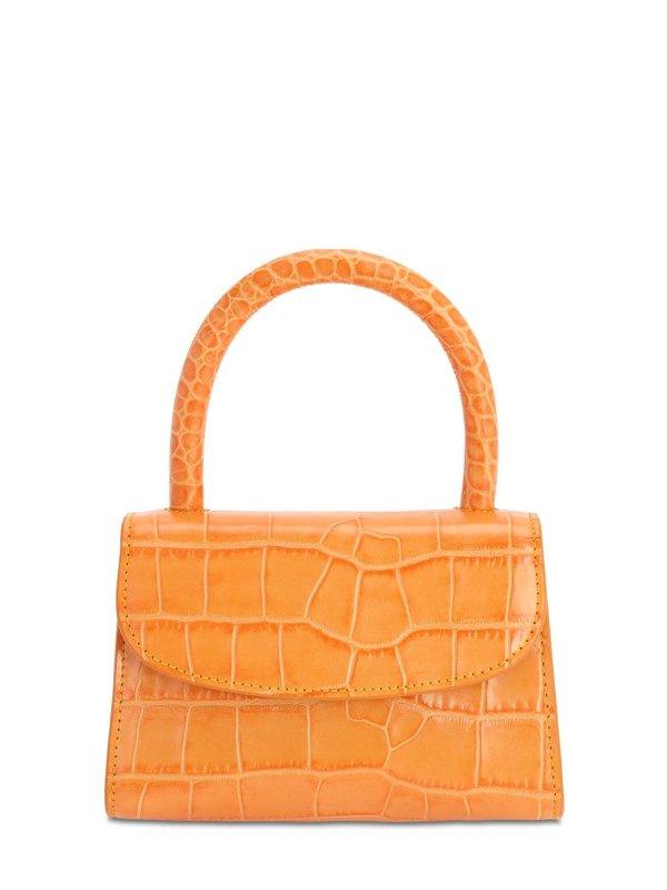 活力橙单肩包