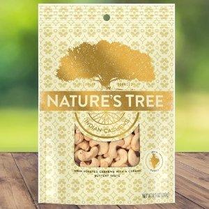 $3.34 健康天然又优质Nature's Tree 印度腰果 8.5oz