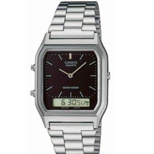 $34.99 (原价$184)限购:卡西欧 Vintage1DS 银色手表