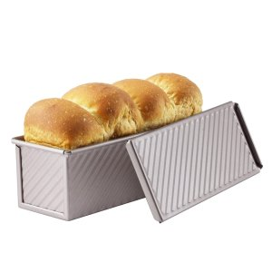 CHEFMADE Mini Pullman Loaf Pan with Lid