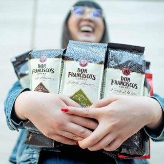 $10.39Don Francisco's 阿拉比卡整颗咖啡豆3包超值装 多种口味