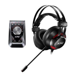 XPG EMIX H30有线游戏耳机 带 OLOX F30放大器