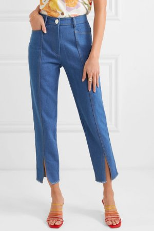 REJINA PYO   Elise high-rise straight-leg jeans   NET-A-PORTER.COM
