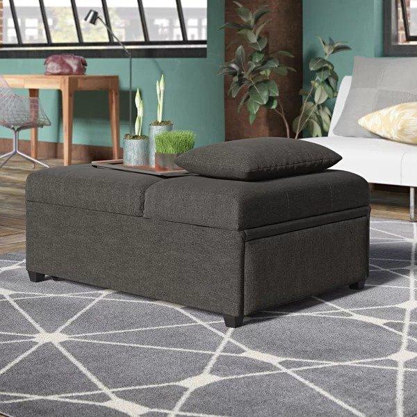 折叠单人床