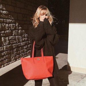 2件7.5折喜迎圣诞:Lacoste 精选男女箱包、配件热卖