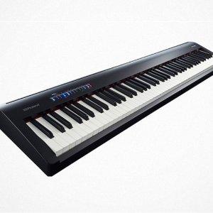 $479.99Roland FP-30 88键 全键盘重键 数码电子钢琴 黑色特价