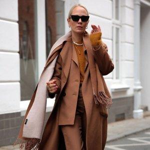低至3折 €99.9收大衣德国高档成衣Hallhuber降价 质感大衣外套集合 优雅轻熟风get