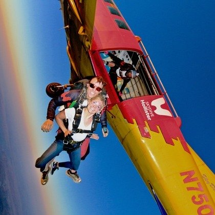 加州Skydive Hollister 跳伞 1人