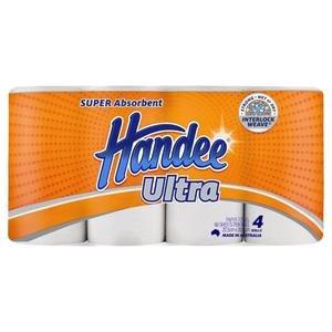 $2.75(原价$5.5)Coles官网 Handee特级厨房纸巾4卷特卖 不限购 速囤!