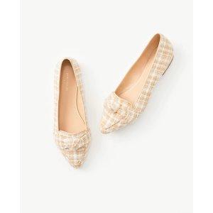 小香风单鞋