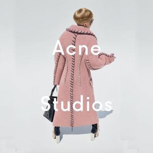 低至5折 T恤$78Acne Studios 服饰配饰热卖 入秋冬温暖毛衣$200+