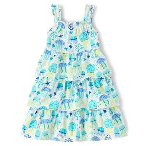 Gymboree蓝色水母裙
