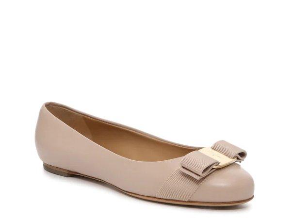 Varina 蝴蝶结芭蕾平底鞋
