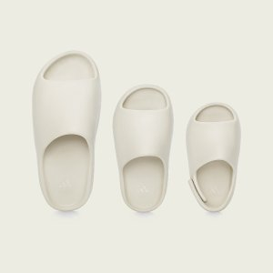 $70+包邮 双色可选Adidas 官网 Yeezy Slide已发售 明星挚爱的夏日宝藏拖鞋