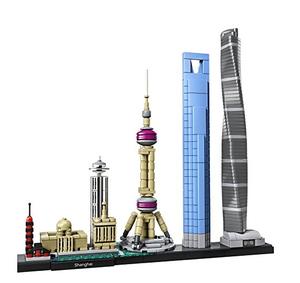 $69.99  (原价$79.99), 1月新品LEGO Architecture系列 上海天际线 首款中国题材