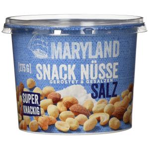 折后€2.99收一大盒Maryland 咸味混合坚果 腰果、杏仁、花生 香香脆脆 补充能量