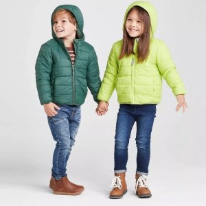 Toddler Long Sleeve Lightweight Puffer Jacket, Cat & Jack™
