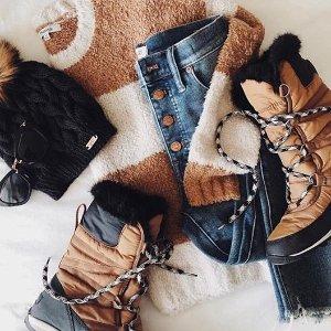 低至7.5折+额外7折 $69.99起Sorel 精选雪地靴热卖 保暖又时尚