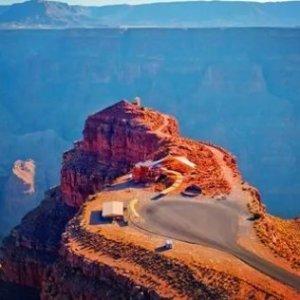 ¥488起 搭直升机畅游大峡谷美国科罗拉多大峡谷西峡—+胡佛大坝一日游促销