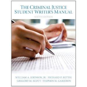 8.5折价格The Criminal Justice Student Writer's Manual (6th Edition)