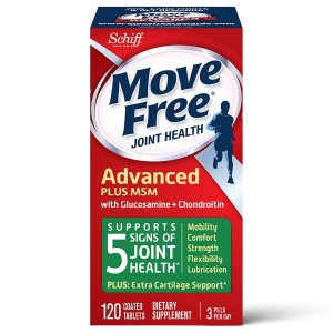 Move Free Glucosamine MSM Joint Health Tablets, move free (120 Count in a Bottle)