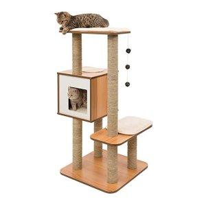 $57.98 (原价$129.99)史低价:Vesper 猫树 47.9英寸