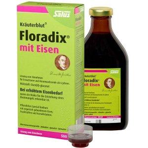 限时秒杀¥97+包税直邮中国最后一天:Floradix mit Eisen 铁元 补铁补气抗疲劳 500ml