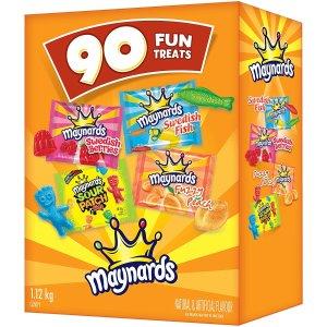 $11.99 (原价$14.99)MAYNARDS 超大包装糖果90袋 万圣节准备好了吗