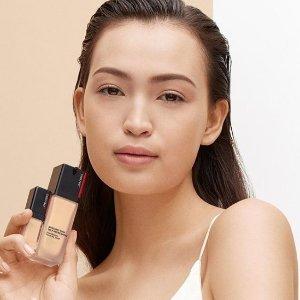 满$85赠9件套 满$125再赠正装卸妆水Shiseido 资生堂官网彩妆热销赠好礼 收超进化持久粉底
