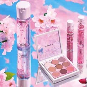 $13.88起(原价$18.5)最后一天:MAC Cosmetics官网 超美樱花系列7.5折热卖 少女心开花惹