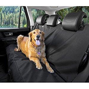 $19.99BarksBar Original Pet Seat Cover for Cars - Black, Waterproof & Hammock Convertible @ Amazon