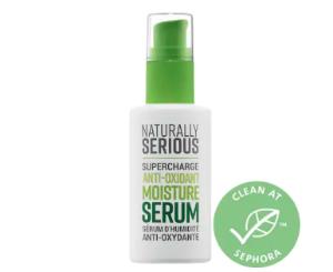 Supercharge Anti-Oxidant Moisture Serum - Naturally Serious | Sephora