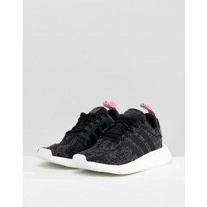 buy online d9ee1 d07b4 ASOSadidas Originals NMD R2 Sneakers In Black at asos.com