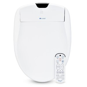 brondellSwash 1400 Luxury Electric Bidet Seat for Elongated Toilet in White