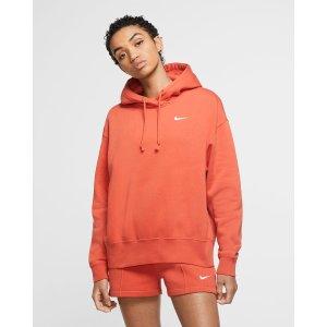 NikeSportswear 橘色卫衣
