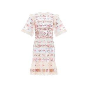 NEEDLE & THREAD白色仙女裙