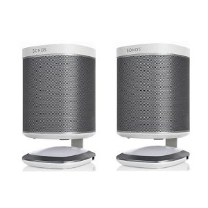 Flexson Illuminated Speaker Stands for Sonos Play:1 with USB Charger