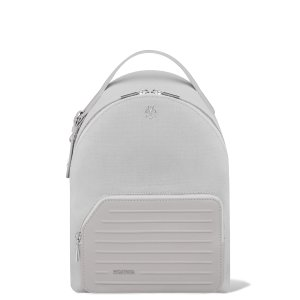 Small Backpack in Leather & Canvas | Grey | RIMOWA