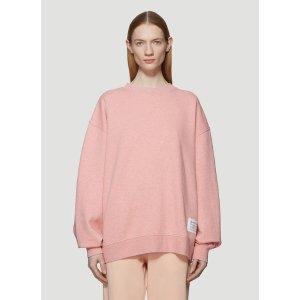 Acne StudiosWash Label Sweatshirt in Pink